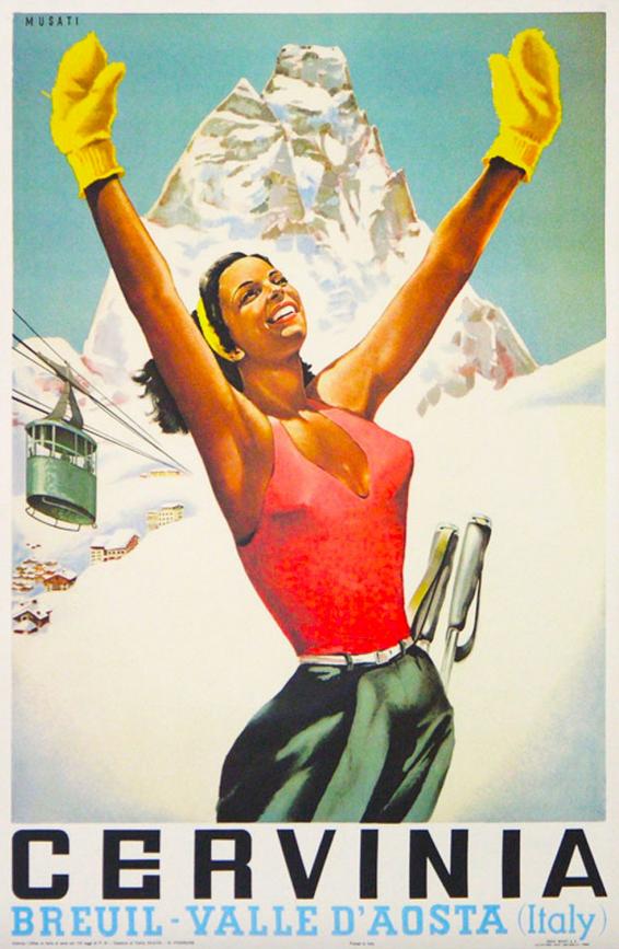 Breuil_Cervinia_Zermatt_poster_Per Henrik Brask