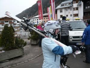 Sådan bærer du dine ski_Marie Louise Brask