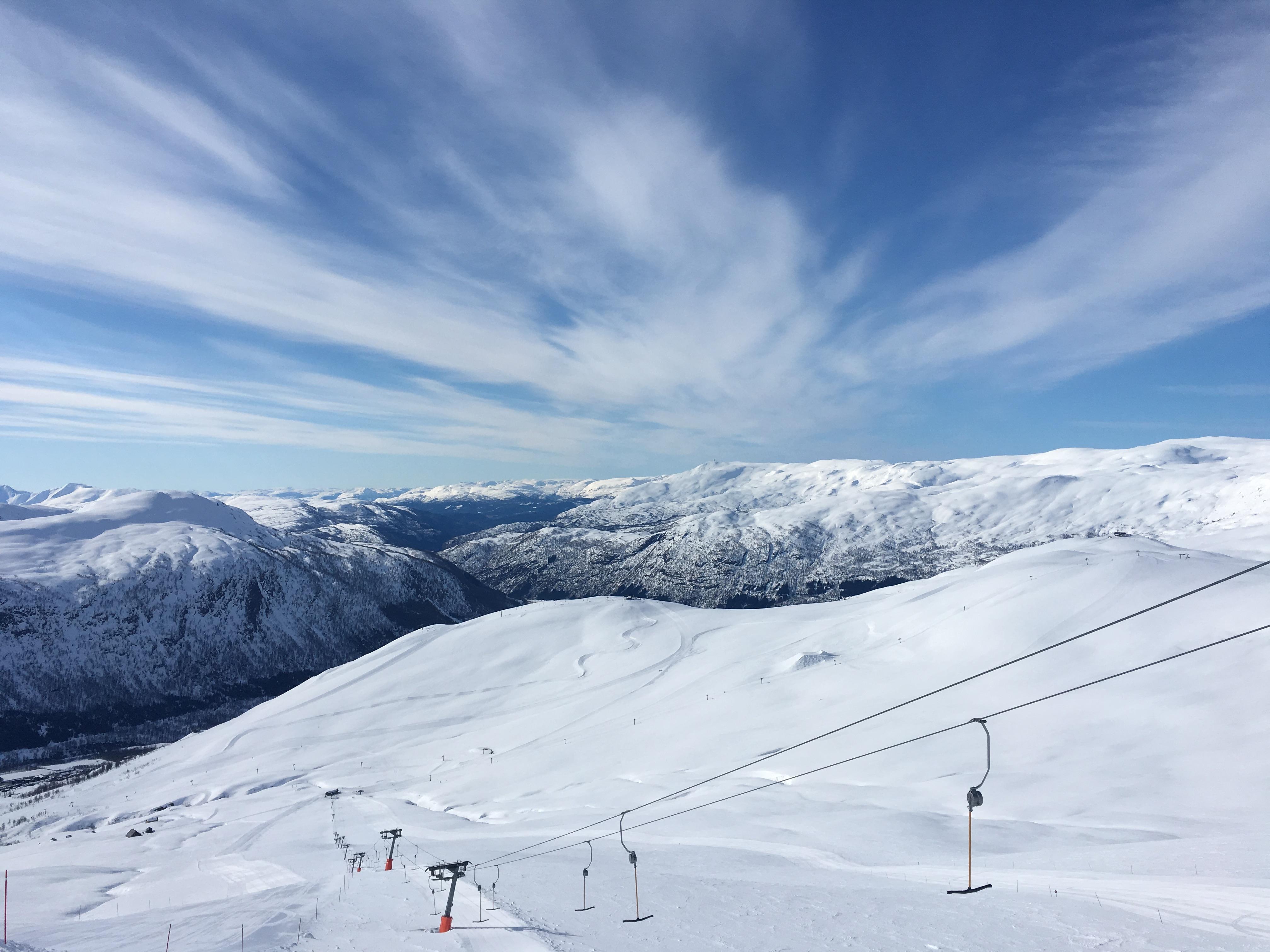 Myrkdalen – Norges Ambitiøse Og Upåagtede Skiområde Med 5-6 Meters Snefald På En Dårlig Sæson