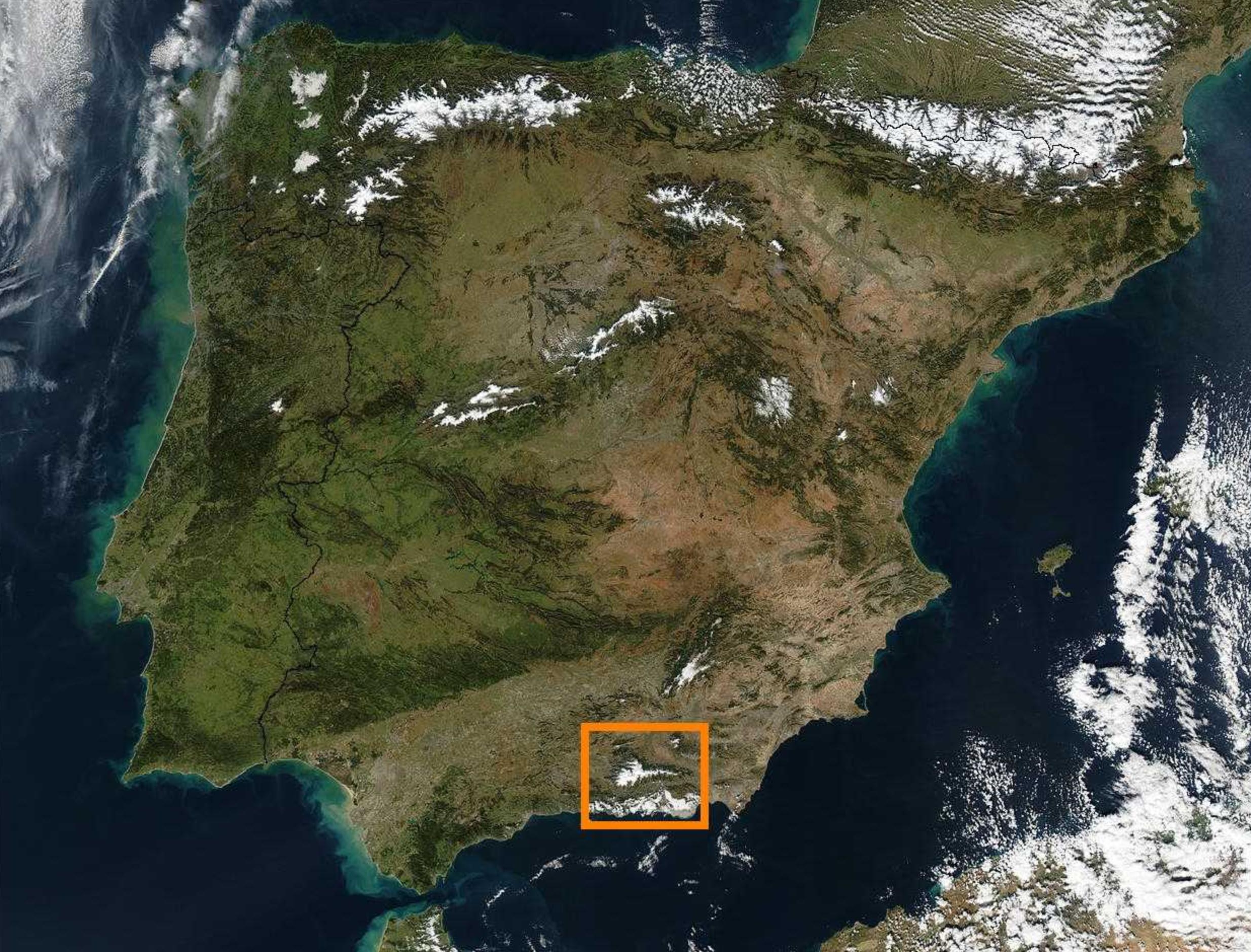Sierra Nevada – Med Afrika Som Nabo